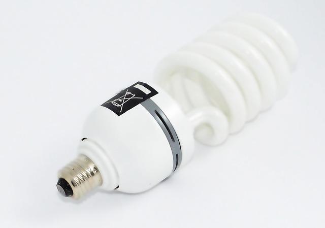 úsporná kroucená žárovka